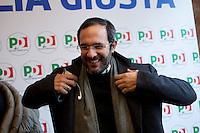 Milano: Umberto Ambrosoli durante la campagna elettorale
