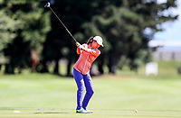 Rose Zheng during the New Zealand Amateur Golf Championship at Russley Golf Course, Christchurch, New Zealand. Saturday 4 November 2017. Photo: Simon Watts/www.bwmedia.co.nz
