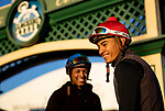 OCT 26: Jockeys, Ruben Fuentes at Santa Anita Park in Arcadia, California on Oct 26, 2019. Evers/Eclipse Sportswire/Breeders' Cup