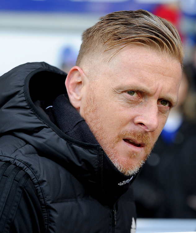 Birmingham City's manager Garry Monk  <br /> <br /> Photographer Hannah Fountain/CameraSport<br /> <br /> The EFL Sky Bet Championship - Ipswich Town v Birmingham City - Saturday 13th April 2019 - Portman Road - Ipswich<br /> <br /> World Copyright © 2019 CameraSport. All rights reserved. 43 Linden Ave. Countesthorpe. Leicester. England. LE8 5PG - Tel: +44 (0) 116 277 4147 - admin@camerasport.com - www.camerasport.com