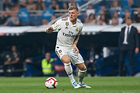 Toni Kroos  of Real Madrid during the match between Real Madrid v Cd Leganes of LaLiga, 2018-2019 season, date 3. Santiago Bernabeu Stadium. Madrid, Spain - 1 September 2018. Mandatory credit: Ana Marcos / PRESSINPHOTO