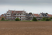 12.5.2020  Housing development on farmland <br /> ©Tim Scrivener Photographer 07850 303986<br />      ....Covering Agriculture In The UK....