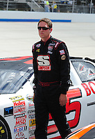 Sept 19, 2008; Dover, DE, USA; NASCAR Camping World Series East driver Tim Andrews during qualifying prior to the Sunoco 150 at Dover International Speedway. Mandatory Credit: Mark J. Rebilas-