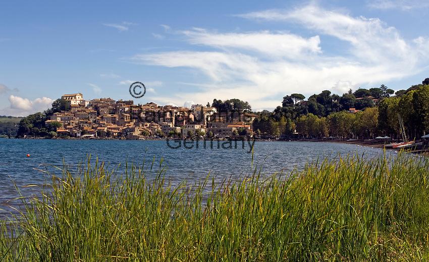 Italien, Latium, Anguillara Sabazia am Lago di Bracciano | Italy, Lazio, Anguillara Sabazia at Lago di Bracciano