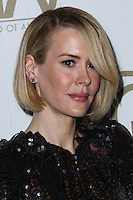 BEVERLY HILLS, CA - JANUARY 19: Sarah Paulson at the 25th Annual Producers Guild Awards held at The Beverly Hilton Hotel on January 19, 2014 in Beverly Hills, California. (Photo by Xavier Collin/Celebrity Monitor)