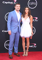 LOS ANGELES, CA - JULY 12: Ricky Stenhouse Jr. and Danica Patrick at The 25th ESPYS at the Microsoft Theatre in Los Angeles, California on July 12, 2017. Credit: Faye Sadou/MediaPunch