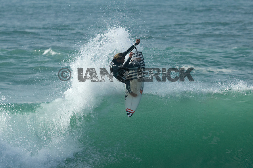 Dion Angus in Hossegor in the south of France.