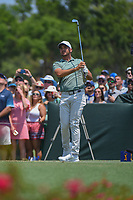 Jason Day (AUS) watches his tee shot on 3 during round 1 of The Players Championship, TPC Sawgrass, at Ponte Vedra, Florida, USA. 5/10/2018.<br /> Picture: Golffile | Ken Murray<br /> <br /> <br /> All photo usage must carry mandatory copyright credit (&copy; Golffile | Ken Murray)