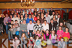 Joan Mangan Riverhaven, Coolcorcoran, Killarney (seated centre) celebrated her 40th birthday with her Family and friends in the Killarney Avenue Hotel on Saturday.   Copyright Kerry's Eye 2008