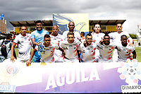 IPIALES-COLOMBIA ,28-09-2019.Formación del Cúcuta Deportivo.Acción de juego entre los equipos Deportivo Pasto y Cúcuta Deportivo durante partido por la fecha 13 de la Liga Águila II 2019 jugado en el estadio Municipal de Ipiales./Team of Cucuta Deportivo. Action game between teams Deportivo Pasto  and Cucuta Deportivo during the match for the date 13 of the Aguila League II 2019 played at Municipal stadium in Ipiales city. Photo: VizzorImage/ Leonardo Castro / Contribuidor