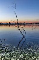 Lake Murray at Dusk in San Diego California