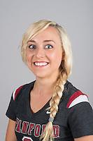 STANFORD, CA - Taylor Rice of Stanford University Women's Gymnastics.