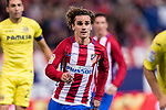 Antoine Griezmann of Atletico de Madrid  in action during the La Liga match between Atletico de Madrid vs Villarreal CF at the Estadio Vicente Calderon on 25 April 2017 in Madrid, Spain. Photo by Diego Gonzalez Souto / Power Sport Images