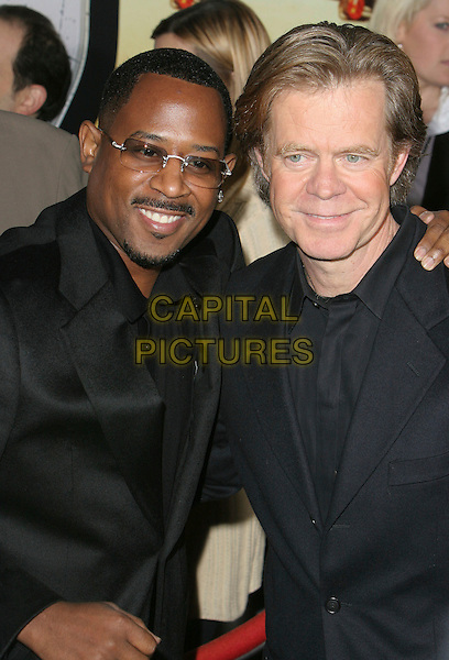"MARTIN LAWRENCE & WILLIAM H. MACY.""Wild Hogs"" Los Angeles Premiere held at the El Capitan Theatre, Hollywood, California, USA, 27 February 2007..half length glasses beard.CAP/ADM/CH.©Charles Harris/AdMedia/Capital Pictures. *** Local Caption *** ."