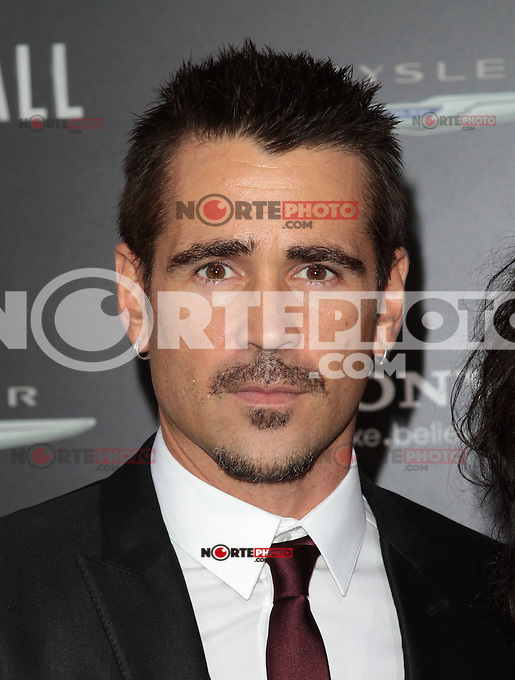 HOLLYWOOD, CA - AUGUST 01: Colin Farrell at the premiere of Columbia Pictures' 'Total Recall' held at Grauman's Chinese Theatre on August 1, 2012 in Hollywood, California Credit: mpi21/MediaPunch Inc. /NortePhoto.com<br /> <br /> **SOLO*VENTA*EN*MEXICO**<br /> **CREDITO*OBLIGATORIO** <br /> *No*Venta*A*Terceros*<br /> *No*Sale*So*third*<br /> *** No Se Permite Hacer Archivo**<br /> *No*Sale*So*third*