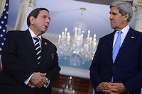 John Kerry and Panama FM Nunez Fabrega