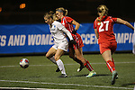 SALEM, VA - DECEMBER 3:Marisa Weaver (10) and Lexie Sprague (4) battle for the ball during theDivision III Women's Soccer Championship held at Kerr Stadium on December 3, 2016 in Salem, Virginia. Washington St Louis defeated Messiah 5-4 in PKs for the national title. (Photo by Kelsey Grant/NCAA Photos)