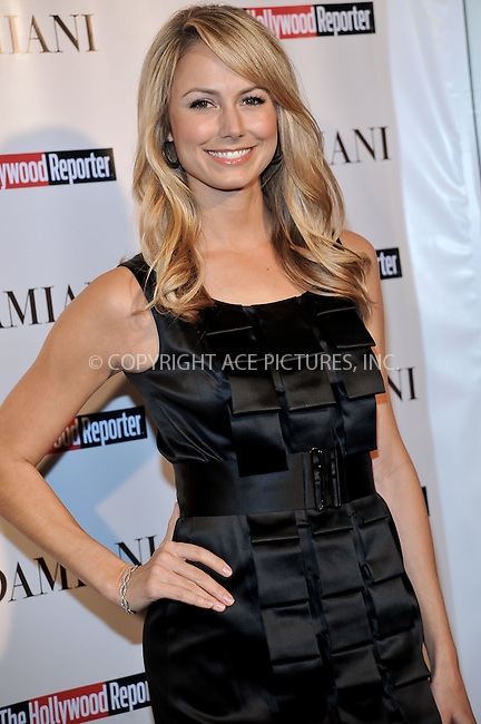 WWW.ACEPIXS.COM . . . . . ....December 3 2009, Hollywood....Actress Stacey Keebler at the Damiani Diamonds & The Hollywood Reporter Power 100 Women in Entertainment on December 3, 2009 in Beverly Hills, California.....Please byline: JOE WEST- ACEPIXS.COM.. . . . . . ..Ace Pictures, Inc:  ..(646) 769 0430..e-mail: info@acepixs.com..web: http://www.acepixs.com