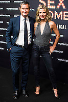 Elsa Pataky and Jaume Miguel during the presentation of the first musical Women'Secret  in Madrid. September 29, Spain. 2016. (ALTERPHOTOS/BorjaB.Hojas) /NORTEPHOTO