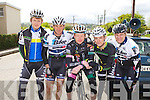 Chris Dunworth, Tralee, Tom Barret Listowel, John Brosnan Killlarney, Denis Dunworth and Peter White Listowel who competed in the Johnny Drum classic in Currow on Sunday
