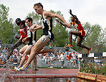 May 18, 2008 - Boulder, CO.   Men's 3000m Steeplechase action during the 2008 Big 12 Conference Track & Field Championships.  ...Larry Clouse/CSM