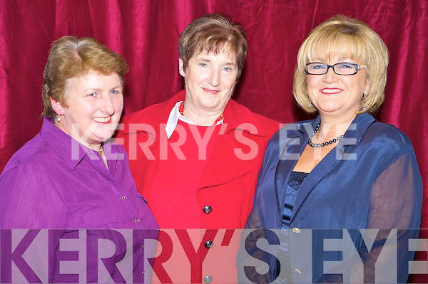 All smiles at the gala fashion show in aid of the CYMS development fund on Thursday night were Eileen O'Sullivan, Carmel Breen and Maura O'Boyle.