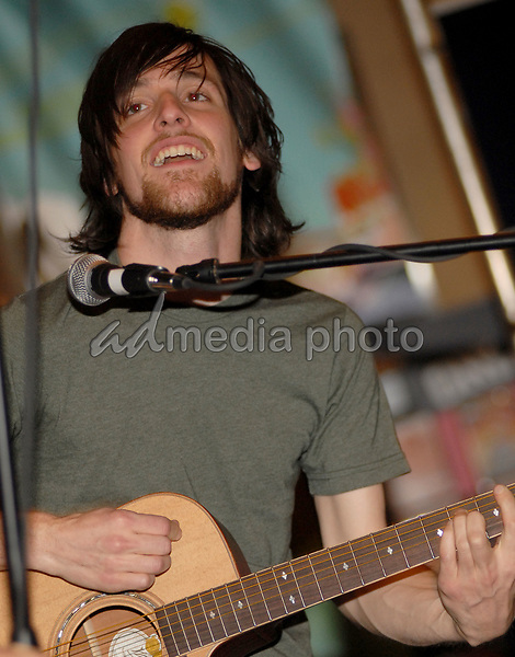 21 June 2006 - New York, NY - Mike Kennerty. The All-American Rejects perform at Virgin Megastore Times Square. Photo Credit: Paul Hawthorne/AdMedia   *** Local Caption ***