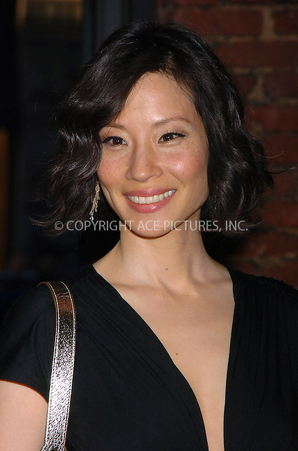 WWW.ACEPIXS.COM . . . . .  ....May 23 2006, New York City......Lucy Liu arriving at the opening of the 100th Longchamp store which is to be the US Flagship store, on Spring Street in Soho, Manhattan. The store was designed by acclaimed london architect Thomas Heatherwick.....Please byline: AJ Sokalner - ACEPIXS.COM.... *** ***..Ace Pictures, Inc:  ..(212) 243-8787 or (646) 769 0430..e-mail: picturedesk@acepixs.com..web: http://www.acepixs.com