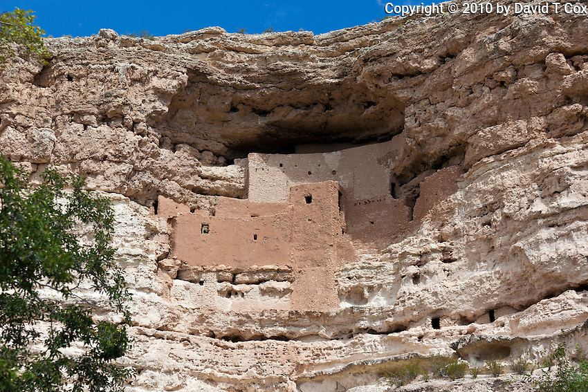 Montezuma Castle, Sinaguan 14th C, Arizona