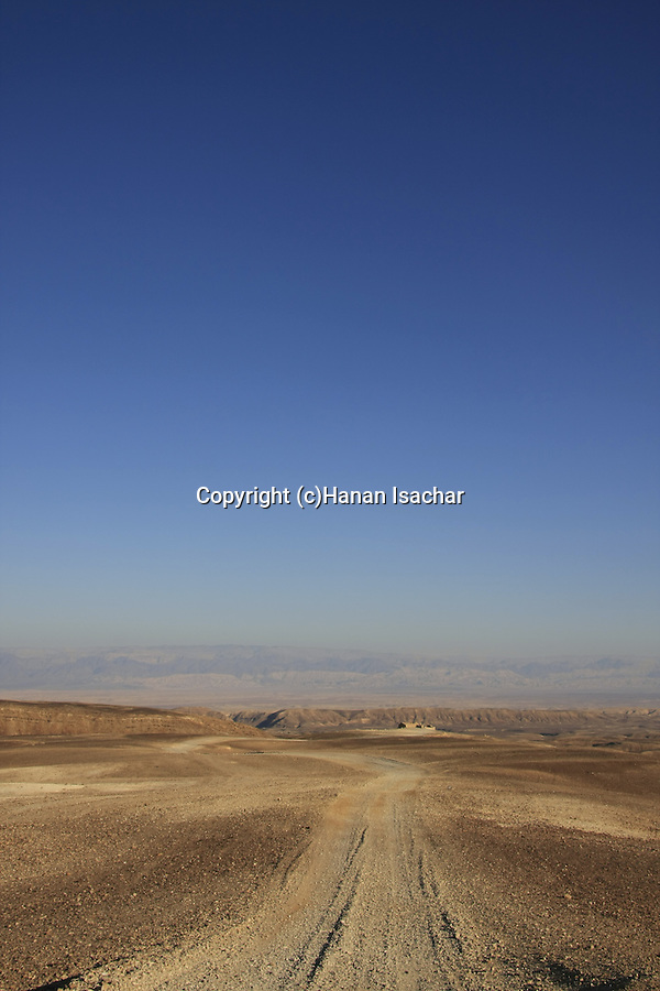 Israel, Negev, Kasra Fortress on the ancient Incense Route, a World Heritage Site
