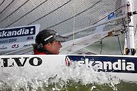Medemblik - the Netherlands, May 28th 2010. Delta Lloyd Regatta in Medemblik (26/30 May 2010). Day 3. 2.4 meter.
