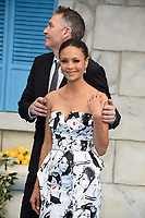 Director Ol Parker &amp; Thandie Newton arriving for the &quot;Mama Mia! Here We Go Again&quot; world premiere at the Eventim Apollo, Hammersmith, London, UK. <br /> 16 July  2018<br /> Picture: Steve Vas/Featureflash/SilverHub 0208 004 5359 sales@silverhubmedia.com