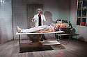 London, UK. 24.10.2014. THE GRAND-GUIGNOL, by Carl Grose, opens at Southwark Playhouse. Picture shows:  Robert Portal (Paulais), Emily Raymond (Maxa). Photograph © Jane Hobson.