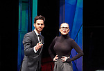 Dry Powder by Sarah Burgess. A Hampstead Theatre Production directed by Anna Ledwich. With Tom Riley as Seth, Hayley Atwell as Jenny. Opens at The Hampstead Theatre on 1/2/18. CREDIT Geraint Lewis EDITORIAL USE ONLY