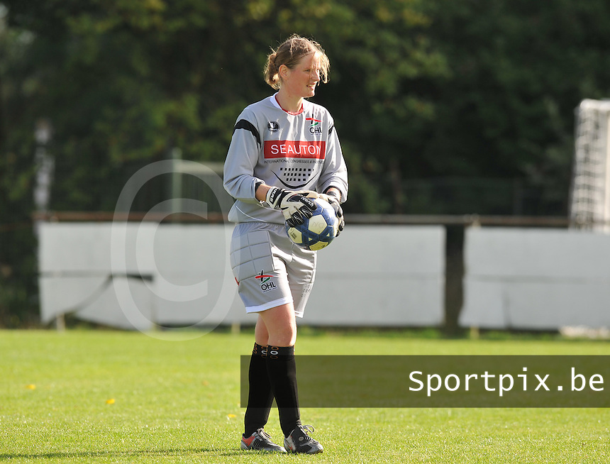 OHL Oud Heverlee Leuven Dames : Anneleen Haesen.Foto David Catry / Vrouwenteam.be