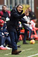 Cesare Prandelli coach of Genoa <br /> Genova 03-02-2019 Stadio Marassi, Football Serie A 2018/2019 Genoa - Sassuolo   <br /> Foto Image Sport / Insidefoto