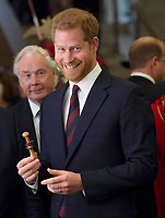 Prince Harry at Lord Mayor's Big Curry at the Guildhall