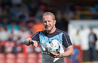 Assistant Manager Richard Dobson of Wycombe Wanderers during the Sky Bet League 2 match between Leyton Orient and Wycombe Wanderers at the Matchroom Stadium, London, England on 19 September 2015. Photo by Andy Rowland.