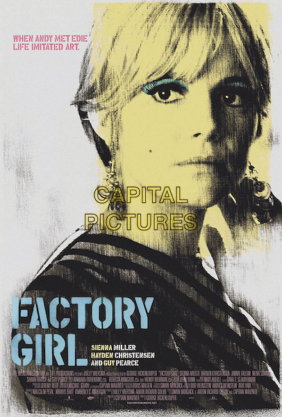 POSTER ART.in Factory Girl .**Editorial Use Only**.CAP/FB.Supplied by Capital Pictures