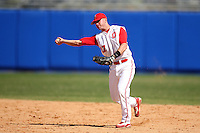 March 23, 2010:  Second Baseman Cory Kovanda of the Ohio State University Buckeyes during a game at the Chain of Lakes Stadium in Winter Haven, FL.  Photo By Mike Janes/Four Seam Images