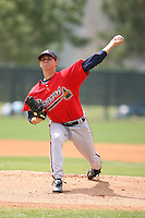 March 23rd 2008:  Jeff Locke of the Atlanta Braves minor league system during Spring Training at Disney's Wide World of Sports in Orlando, FL.  Photo by:  Mike Janes/Four Seam Images