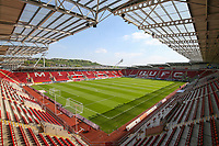 A general view of New York Stadium, home of Rotherham United FC<br /> <br /> Photographer Alex Dodd/CameraSport<br /> <br /> The EFL Sky Bet League One - Rotherham United v Blackpool - Saturday 5th May 2018 - New York Stadium - Rotherham<br /> <br /> World Copyright &copy; 2018 CameraSport. All rights reserved. 43 Linden Ave. Countesthorpe. Leicester. England. LE8 5PG - Tel: +44 (0) 116 277 4147 - admin@camerasport.com - www.camerasport.com