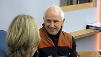 Rachel Johnson, Wayne Sleep<br /> Celebrity Big Brother 2018 - Day 6<br /> *Editorial Use Only*<br /> CAP/KFS<br /> Image supplied by Capital Pictures