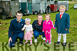 l-r  James Connelly, Caitlyn Connelly, Jodie O'Shea, Keeley Wetton and Jamie Walsh.from Tralee at the KERRY PONY SOCIETY 37th Annual Show & Gymkhana At Blennerville on Sunday
