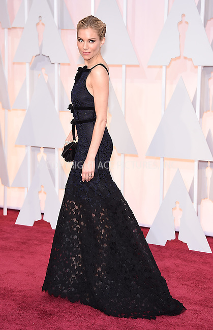 WWW.ACEPIXS.COM<br /> <br /> February 22 2015, LA<br /> <br /> Sienna Miller arriving at the 87th Annual Academy Awards at the Hollywood &amp; Highland Center on February 22, 2015 in Hollywood, California<br /> <br /> <br /> By Line: Z15/ACE Pictures<br /> <br /> <br /> ACE Pictures, Inc.<br /> tel: 646 769 0430<br /> Email: info@acepixs.com<br /> www.acepixs.com