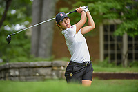 Andrea Lee (a)(USA) watches her tee shot on 14 during round 2 of the U.S. Women's Open Championship, Shoal Creek Country Club, at Birmingham, Alabama, USA. 6/1/2018.<br /> Picture: Golffile | Ken Murray<br /> <br /> All photo usage must carry mandatory copyright credit (&copy; Golffile | Ken Murray)