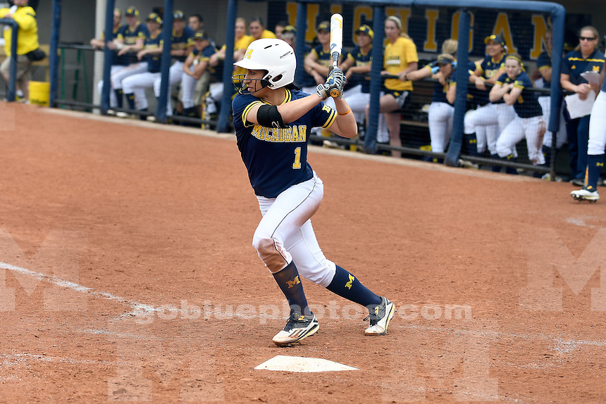 Michigan softball defeats Miami (OH) 6-0, Saturday at UM's Alumni Field on day 2 of the NCAA Regional.