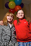 Simone Lynch and Laoise Fallon Hickey, pictured at the Circus festival in Siamsa TIre on Saturday.