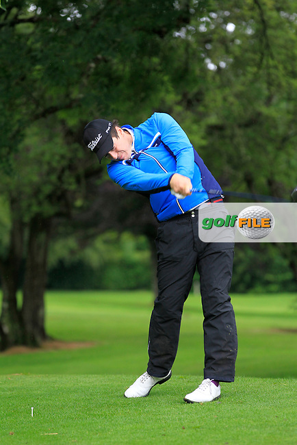 Colin Fairweather (Knock) on the 3rd tee during round 1 of The Mullingar Scratch Cup in Mullingar Golf Club on Sunday 3rd August 2014.<br /> Picture:  Thos Caffrey / www.golffile.ie