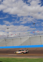 Nov. 13, 2009; Avondale, AZ, USA; NASCAR Sprint Cup Series driver David Gilliland during practice for the Checker O'Reilly Auto Parts 500 at Phoenix International Raceway. Mandatory Credit: Mark J. Rebilas-